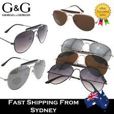 G&G Small Petite Aviator Sunglasses Men Ladies Teenagers Youths Mirrored Lens