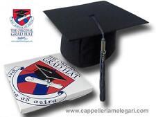 "cappello da laurea ""tocco"" tesi di laurea università Original Grad Hat grigio"