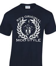 Camiseta de estilo mod años 60 inspirado Scooter Mods y rockeros único hombre 3XL 4XL 5XL