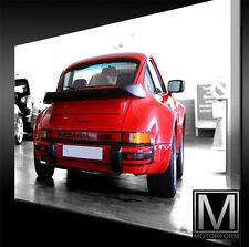 Porsche 911 Turbo 930 LEINWAND Bild Canvas ART Kunstdruck Leinwandbild Poster