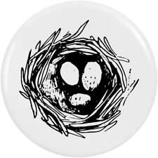 'Bird Nest & Eggs' Button Pin Badges (BB015843)