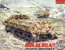 RODEN Sd.Kfz.4/1 Gleisketten-Kraftwagen 3t Munitionskraftwagen Nebelwerfer 1:72