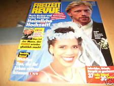 Freizeit Revue 1993 Nr. 18 Boris Becker und Babs