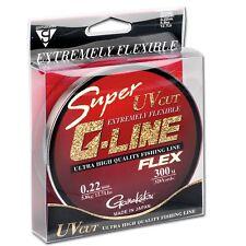 (0,05€/m) Gamakatsu Super G-Line Flex Schnur Monofil 300m - transparent