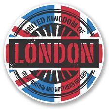 2 x London England UK Vinyl Sticker Laptop Travel Luggage Car #6026