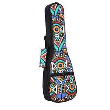 2X(Double Strap Hand Folk Ukulele Carry Bag Cotton Padded Case For Ukulele U7F8