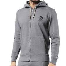 Diesel jeans Mens UMLT Brandon Z Sweatshirt Hoodie Grey Black Ship Worldwide