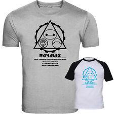 Big Hero 6 Inspired T-Shirt Baymax and Tadashi Technologies Screenprinted