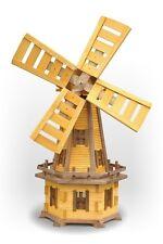 Wood Garden Windmills Garden Ornaments Garden Deco 130 cm