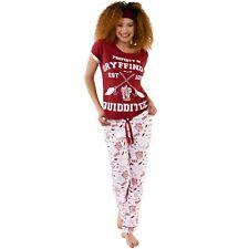 Womens Harry Potter PJs   Harry Potter Quidditch Pyjamas   Ladies Pyjama Set