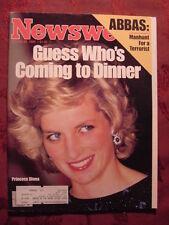 NEWSWEEK October 28 1985 Oct 85 10/28/85 PRINCESS DIANA NEW CARS CHARITY ROCK ++