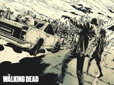 The Walking Dead Zombies Amazing Art HUGE GIANT PRINT POSTER