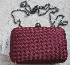 Alex & Co Woven Design Shoulder Clutch Party Wedding Hand Bag (New) £50.00