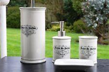 Vintage Bathroom Accessories Lotion Dispenser Toilet Brush Holder Soap Dish Gift