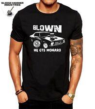 BLOWN HQ HOLDEN GTS MONARO T SHIRT, HOLDEN T SHIRT, MUSCLE CAR T SHIRT, T SHIRTS