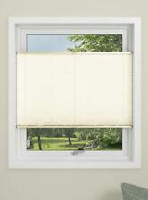 plissée Store pliable crème/sable incl. Supports de serrage 130 x 130 cm ou
