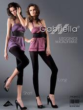 GABRIELLA Luxury Super Fine Plain Leggings With Lycra - Short/Long - Diff Cols