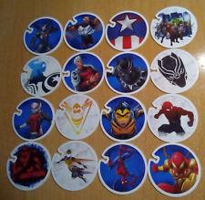 Fichas Flizz de Marvel, 2018 (Carrefour)