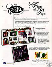 CREATIVE MEMORIES CROPTALK#68A FIESTA OF PAGES 2003 NLA