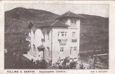 * ACQUASPARTA - Villino A.Santini 1920