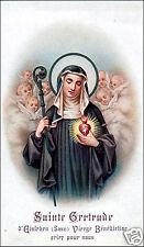SANTINO HOLY CARD SANTA GELTRUDE N 1