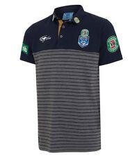NSW Blues 2017 Mens Striped Team Polo Shirt S-5XL BNWT State of Origin