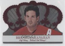 2000-01 Pacific Crown Royale Red #40 Brendan Shanahan Detroit Wings Hockey Card