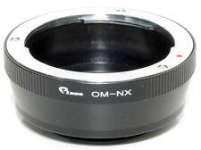 Anello adapter per ottiche Olympus OM su corpi Samsung NX (NX5-NX10-NX100 ecc.)