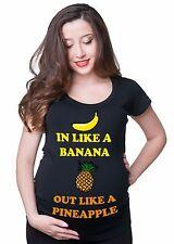Pregnancy T-shirt Funny Maternity T-shirt Birth Announcement T-shirt Funny Tee
