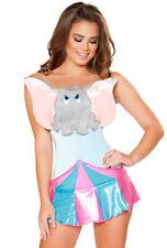 Sexy womens adult Dumbo elephant romper costume