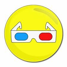 Occhiali 3D-tondo Specchio in vetro compatta 55mm/77mm badgebeast