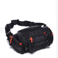 Men's Belt Fanny Pack Waterproof Oxford Trave Cross Body Shoulder Hip Waist Bag