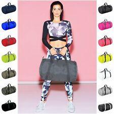 Barrel Bag Packaway Holiday Holdall Sport Grab Bag Gym Sack Duffle Duffel Bag