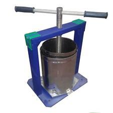 Fruit Wine Press Apple Grape Crusher Juice Maker Basket Stainless Steel 6 10 25