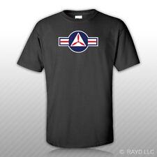 United States Air Force USAF Civil Air Patrol Roundel T-Shirt Tee Shirt Sticker
