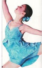 BLUE Cloud Frozen Lyrical Dance Dress Costume Child Small Clearance
