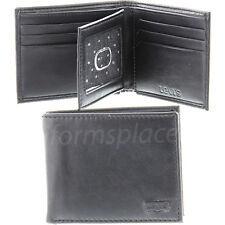 Levis wallet mens bifold extra capacity slimfold Black 31LV130015