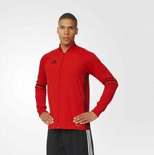 Adidas Condivo Chaqueta De Entrenamiento Gimnasio Fútbol Cremallera Rojo/Azul/Negro
