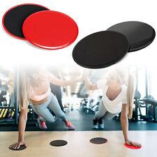 2X Exercise Sliding Gliding Discs Fitness Core Sliders Sport Floor Equipment CA
