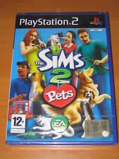 THE SIMS 2 PETS GIOCO NUOVO PER SONY PLAYSTATION 2 PS2 EDIZIONE ITALIANA 2462