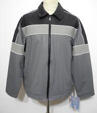 Regen Sport Jacke Fishing Jacket PVC mit Fütterung S bis XL Neu