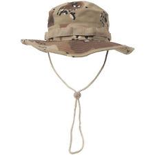 GI RIPSTOP BOONIE BUSH HAT ARMY MILITARY UNIFORM 6-COLOUR DESERT CAMO : S-XL