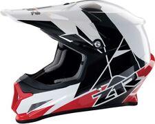 Z1R Rise Motorcycle MX ATV Helmet - Red - All Sizes