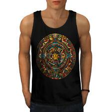 Aztec Traditional Men Tank Top NEW   Wellcoda