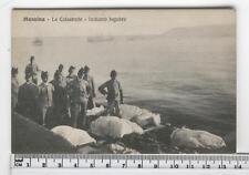 Cartolina Sicilia - Messina La Catastrofe imbarco lugubre - ME CC1344