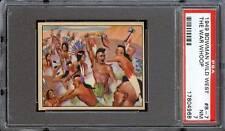 1949 Wild West #B-7 The War Hoop PSA 7 NM Cert #17804968