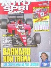 Autosprint 5 1993 Capelli alla Jordan - Ferrari Berger