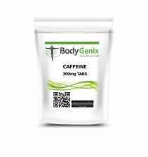Caffeine Tablets 300mg - Bodygenix - Pre Workout | Slimming | Focus | Energy