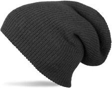 Cappelli da donna cuffie nero acrilico  6ed5a202ee3f
