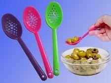 Setaccio cucchiaio, mestolo, olive cucchiaio passierlöffel schiuma cucchiaio garnierlöffel